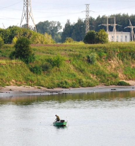 Браконьер на реке Шексна