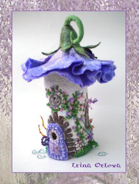 Цветочные домики Ирины Орловой