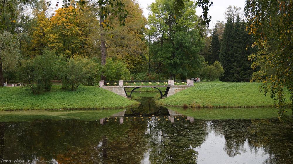 Мостик в Екатерининском парке