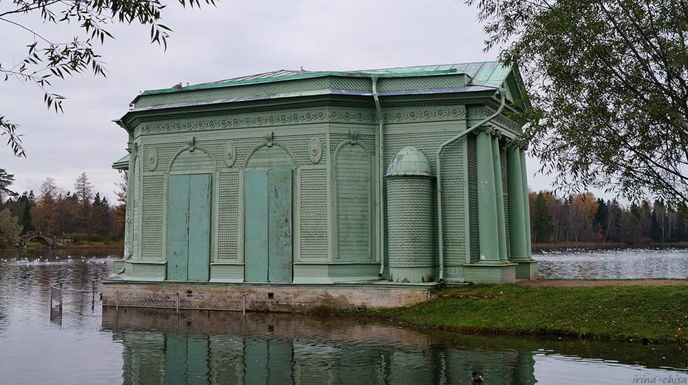 Павильон Венеры на острове Любви