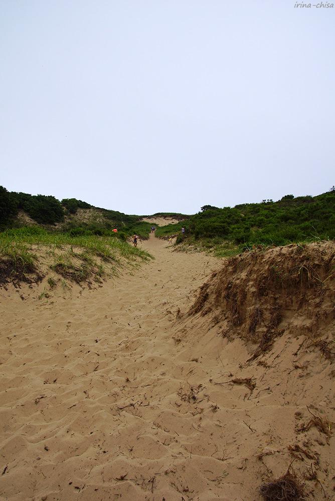 Песчаная дюна на мысе Гранитный