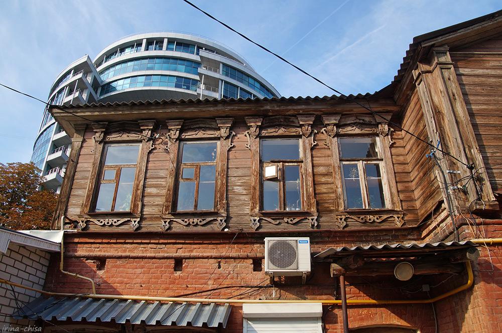 Усадебный дом с мезонином К.М. Плотникова