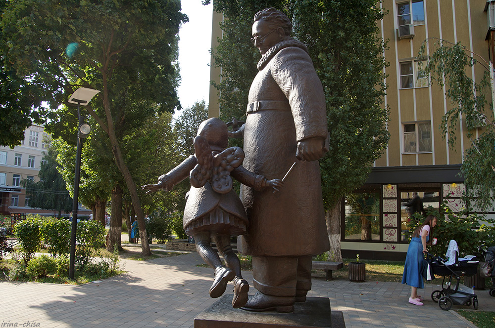 Памятник Самуилу Яковлевичу Маршаку
