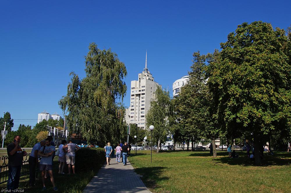 Сквер Ильича