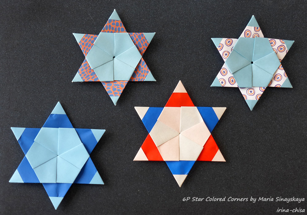 6P Star Colored Corners
