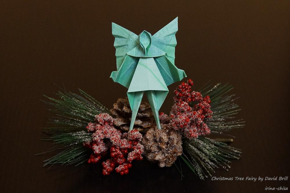 Christmas Tree Fairy by David Brill