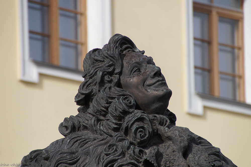 Памятник Доменико Трезини