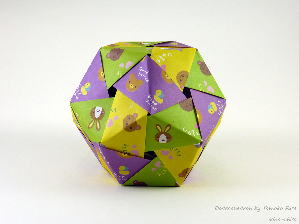 Dodecahedron by Tomoko Fuse