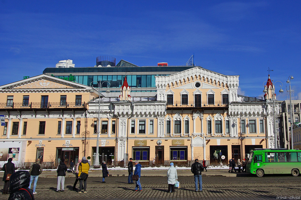 Дома купцов Коробковых