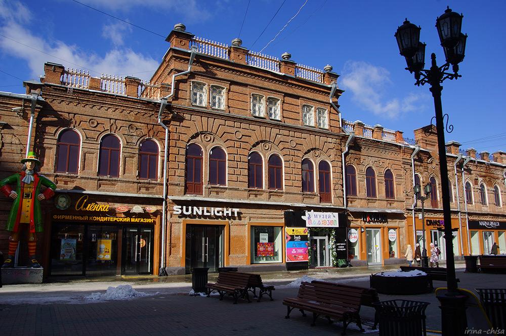 Доходный дом купцов Дмитриевых