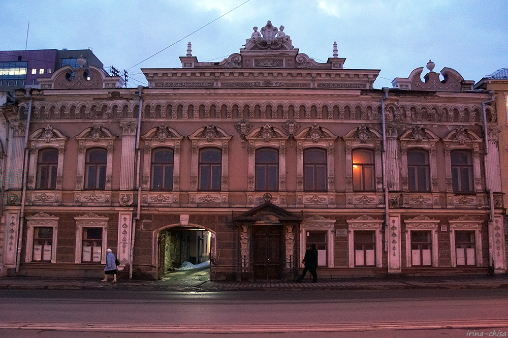 Дом купцов Яковлевых - А. Е. Борчанинова