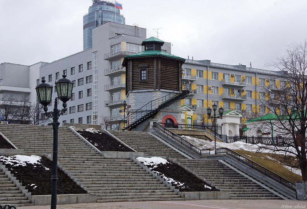 Водонапорная башня железнодорожных мастерских