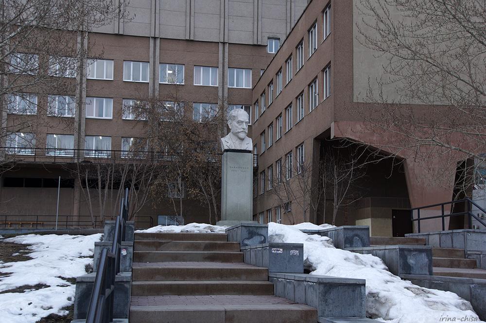 Бюст П. И. Чайковского