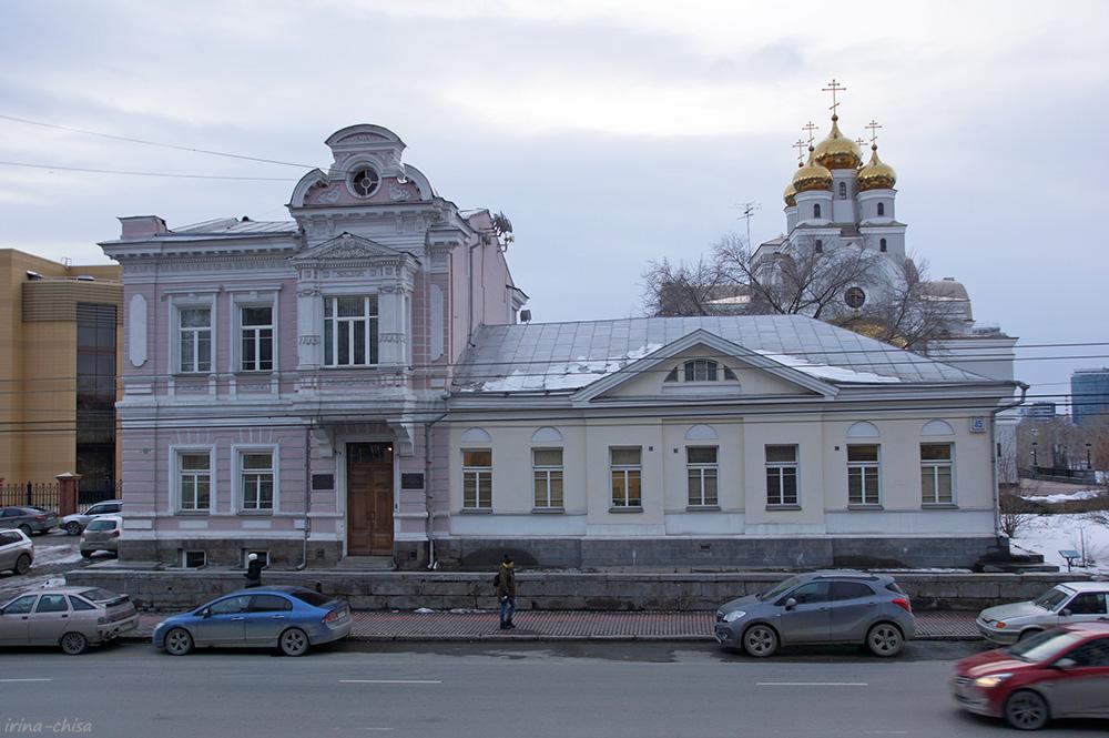 Дом А.А. Зотова и особняк фабриканта И.Ф. Круковского