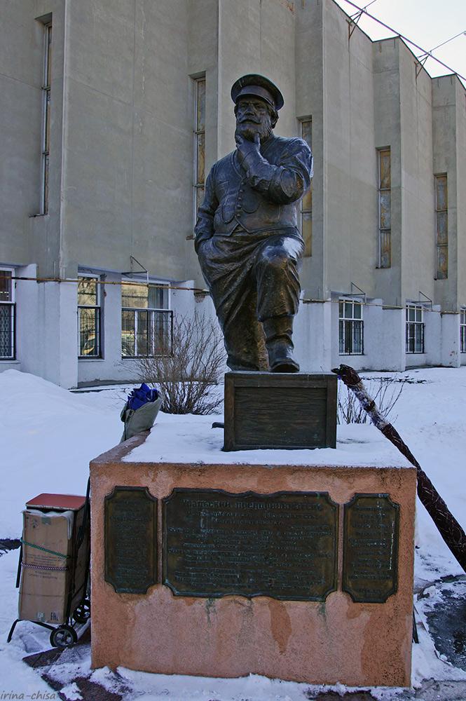 Памятник Уральскому предпринимателю