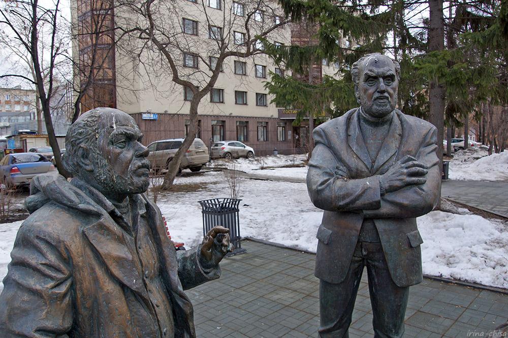 """Памятник """"Горожане"""""""