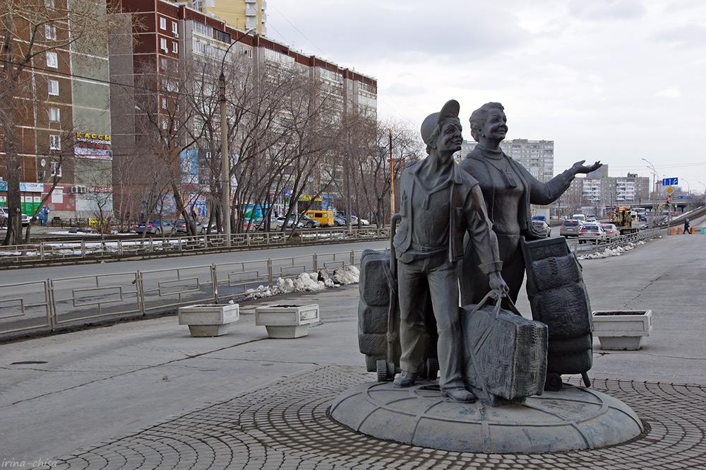 """Памятник """"челнокам"""""""