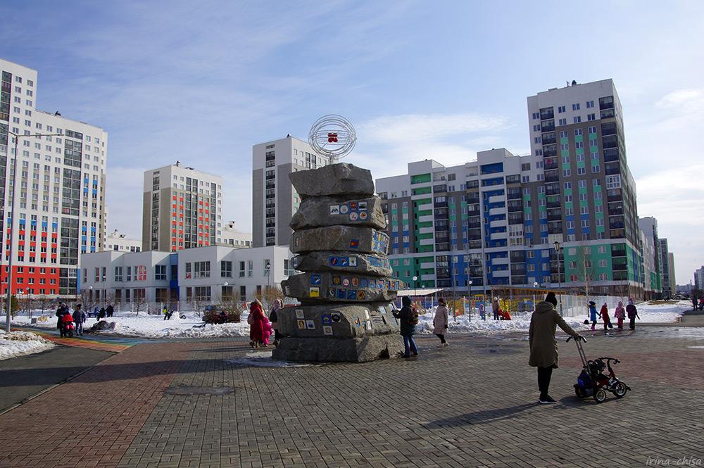 Памятник стройотрядам