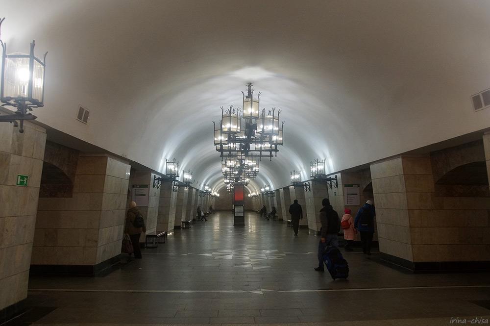 Станция метро Уральская