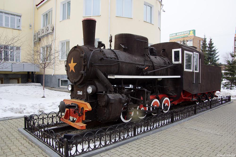 Паровоз-памятник Кч4-328