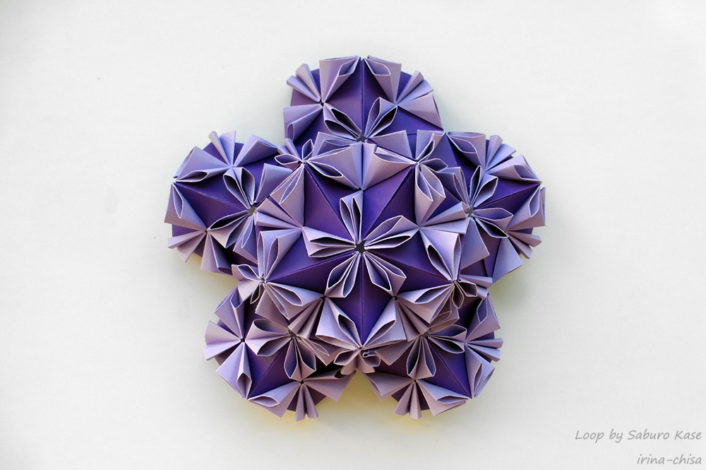 Kusudama Loop by Saburo Kase