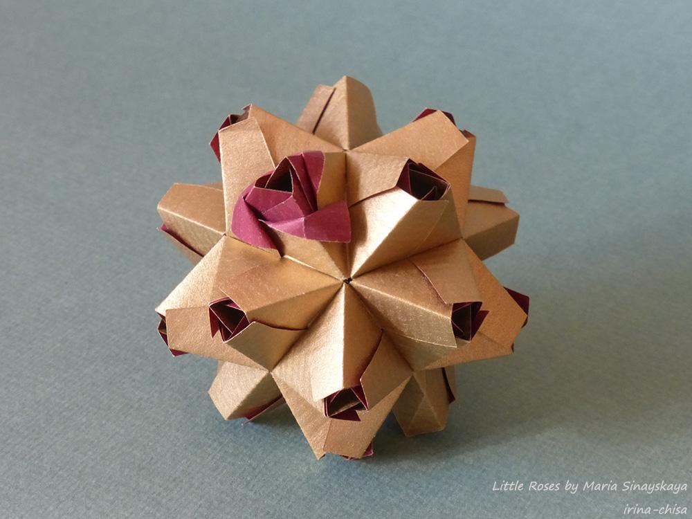 Little Roses by Maria Sinayskaya