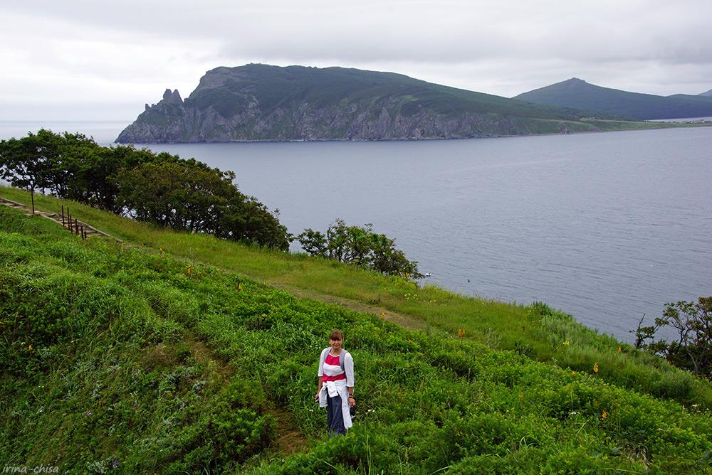 Вид на полуостров Ватовского