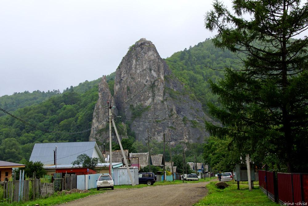 Скала Дерсу-Узала в Кавалерово
