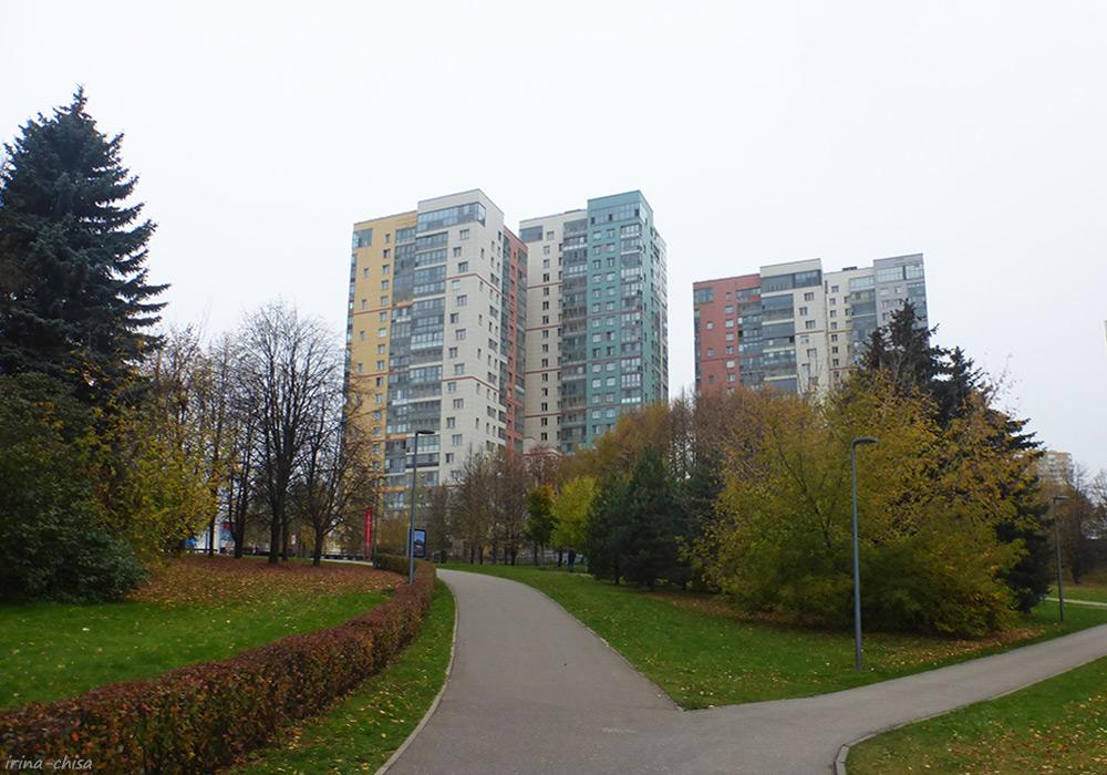 Парк Олимпийской деревни