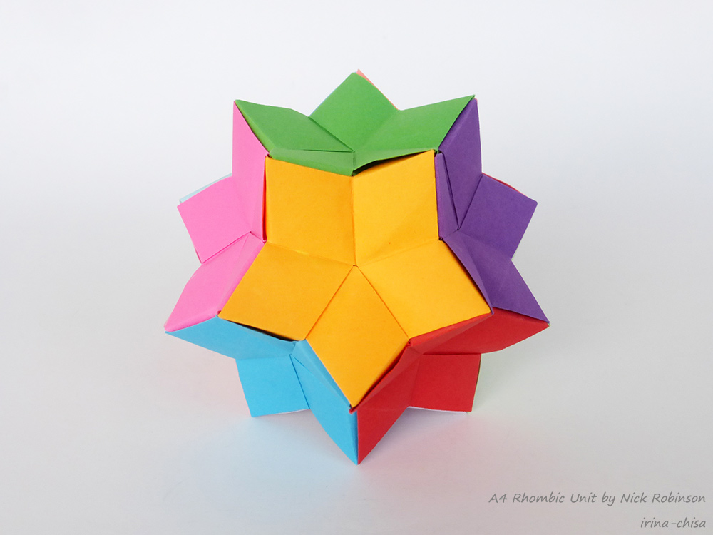 A4 Rhombic Unit by Nick Robinson