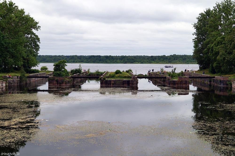 Шлюзы Староладожского канала