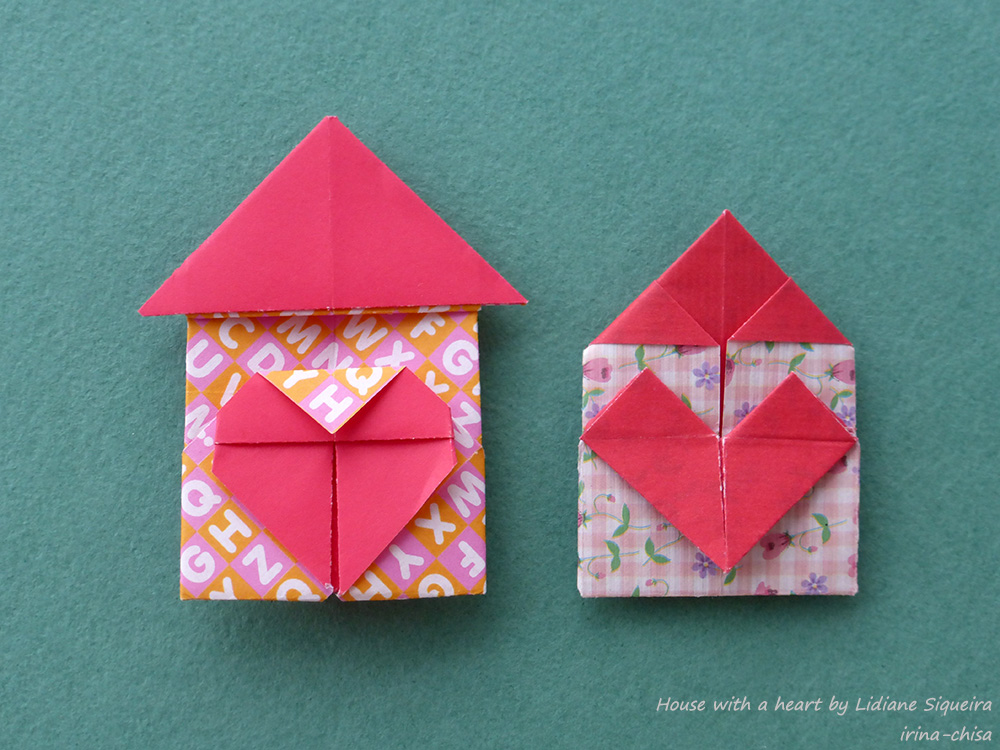 House with a heart by Lidiane Siqueira