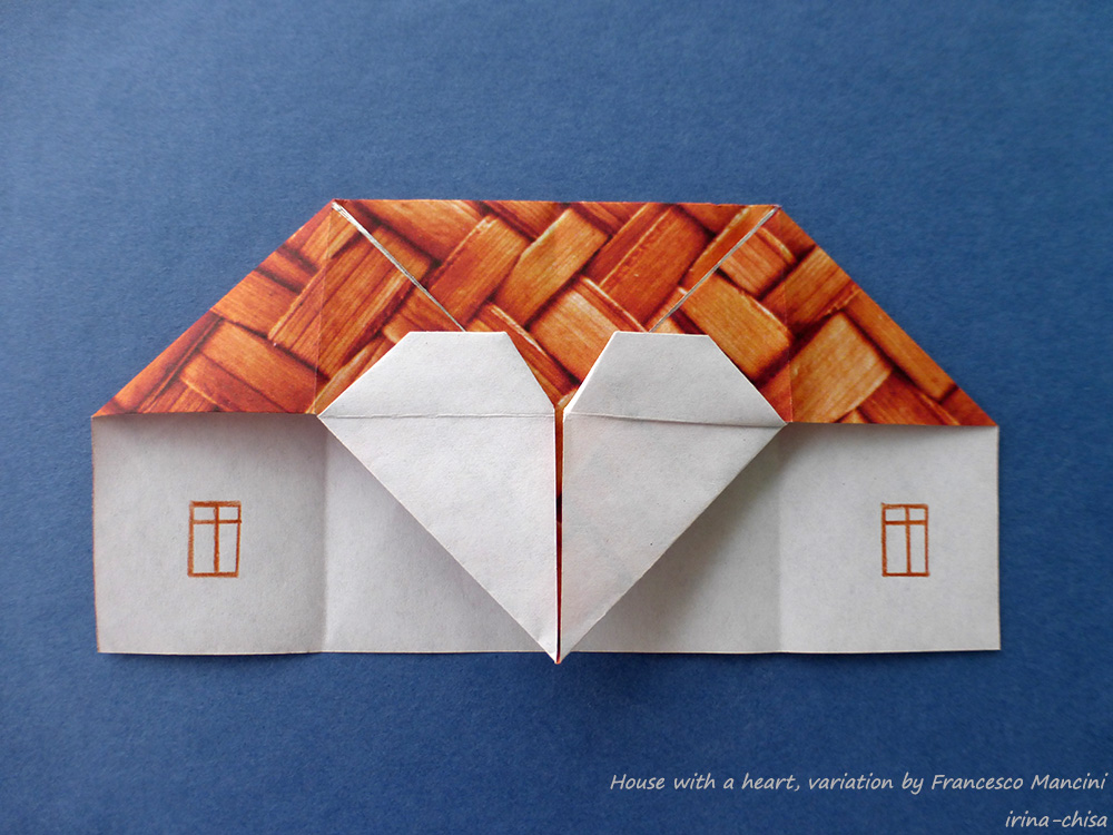 House with a heart, variation by Francesco Mancini
