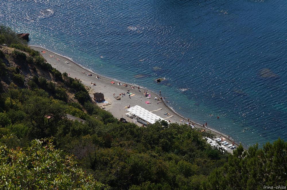 Фиолент. Яшмовый пляж