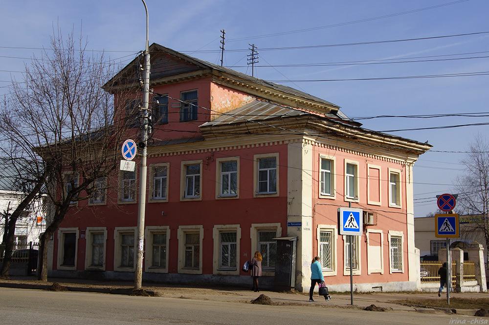 Дом Серебрениковых