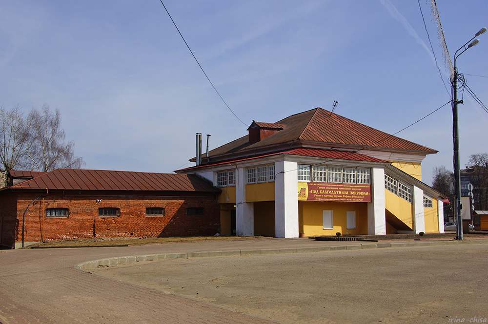 Здание бывшего полицейского управления