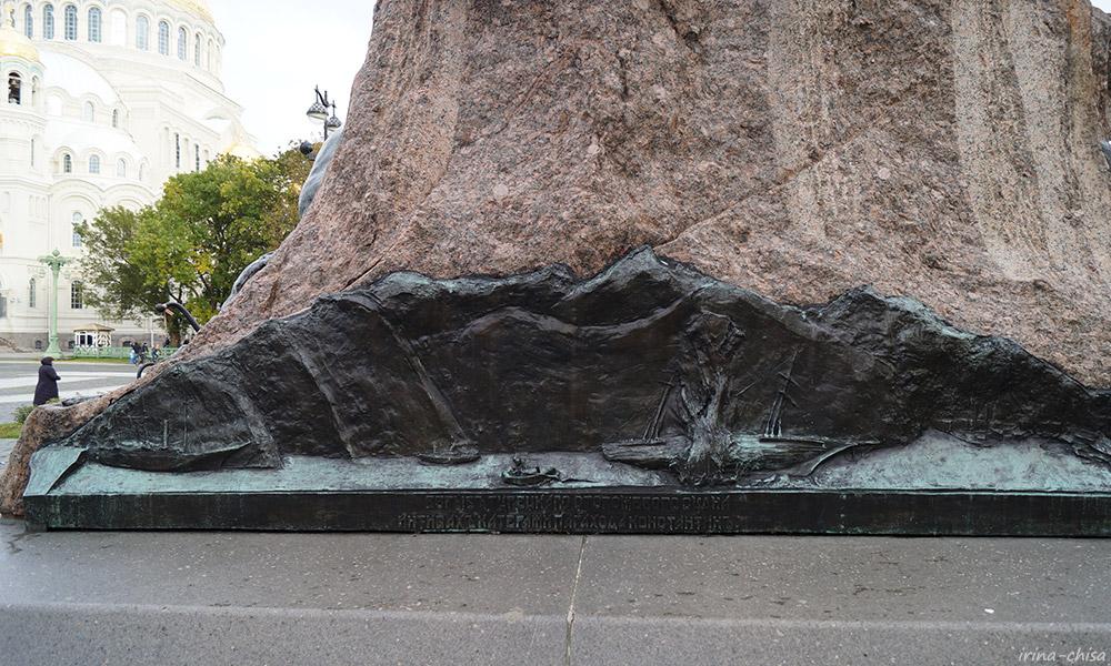 Памятник адмиралу Степану Осиповичу Макарову