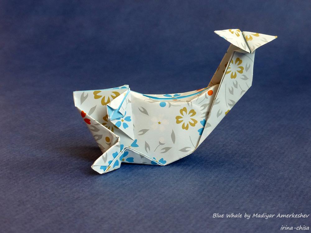 Blue Whale by Madiyar Amerkeshev
