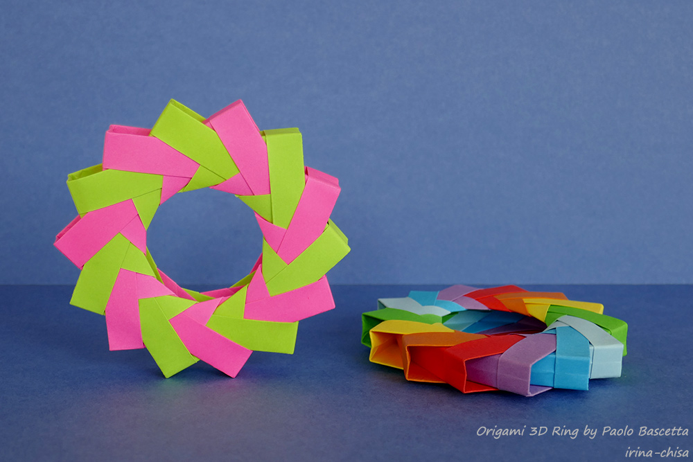 Origami 3D Ring by Paolo Bascetta