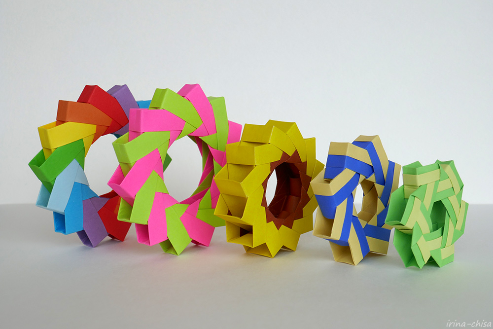 Origami 3D Ring