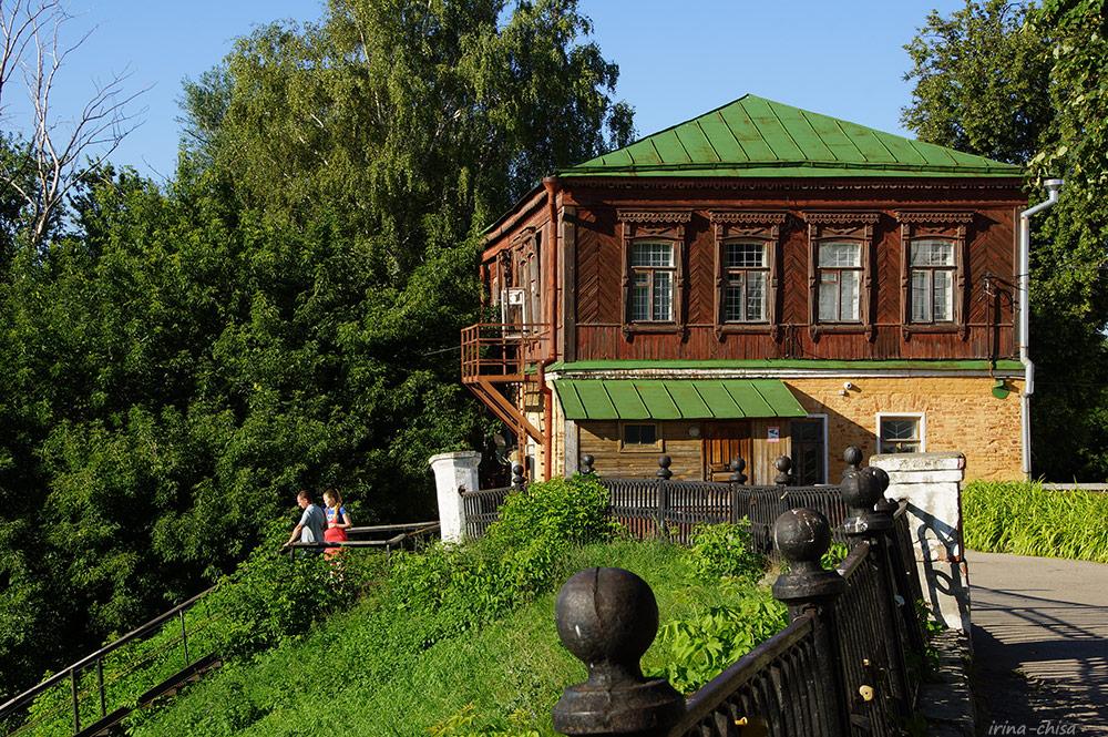 Дом причта - библиотека Рязанского кремля