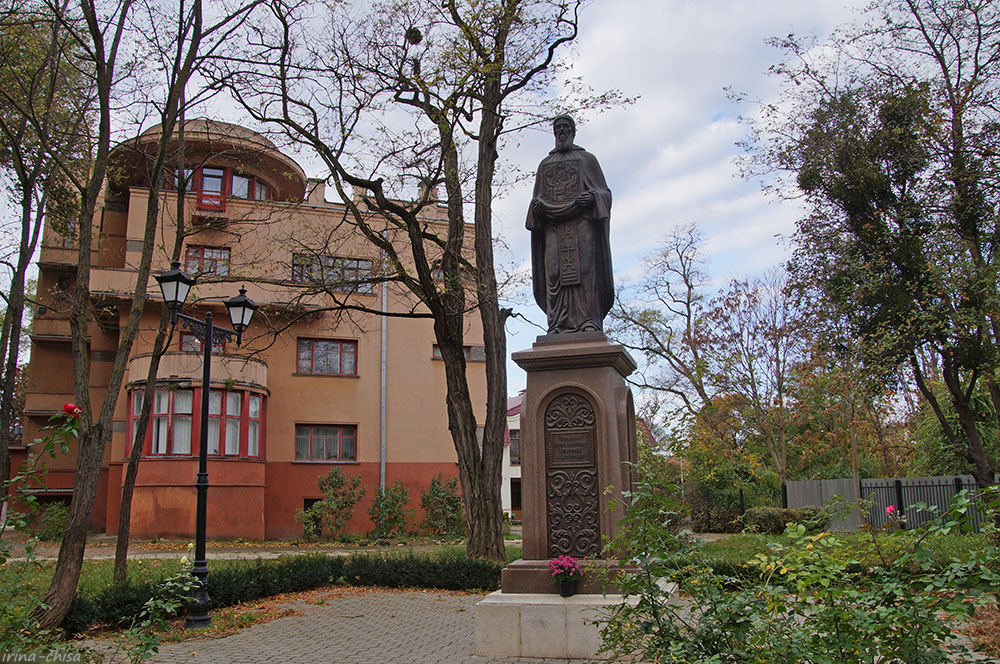 Памятник Св. Сергию Радонежскому