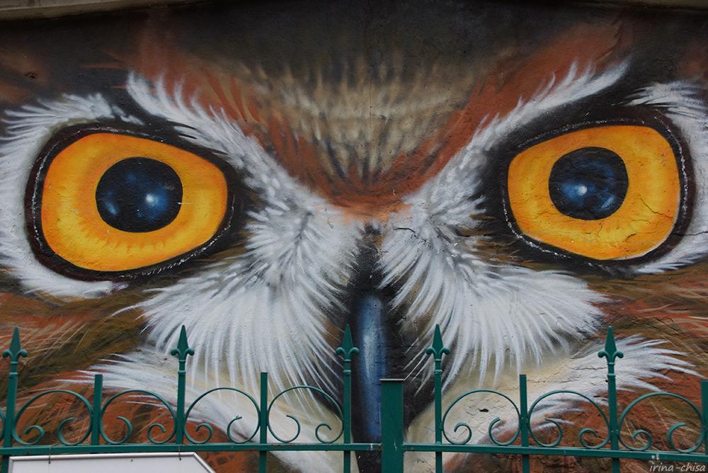 Граффити в Парке Сокольники