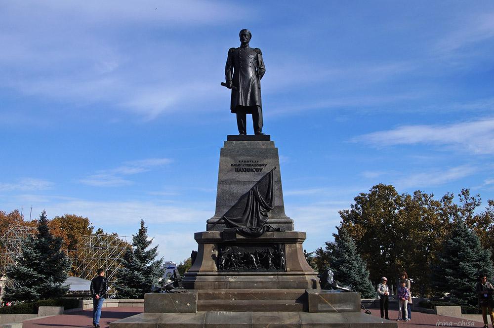 Памятник адмиралу П. С. Нахимову