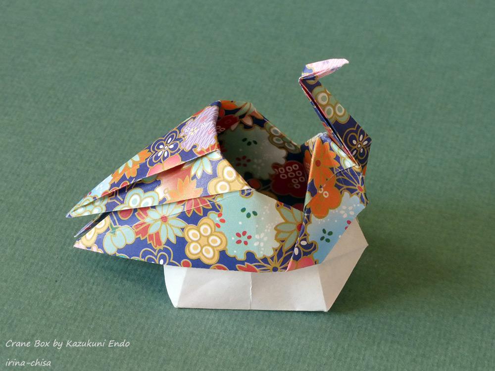 Origami Crane Box by Kazukuni Endo
