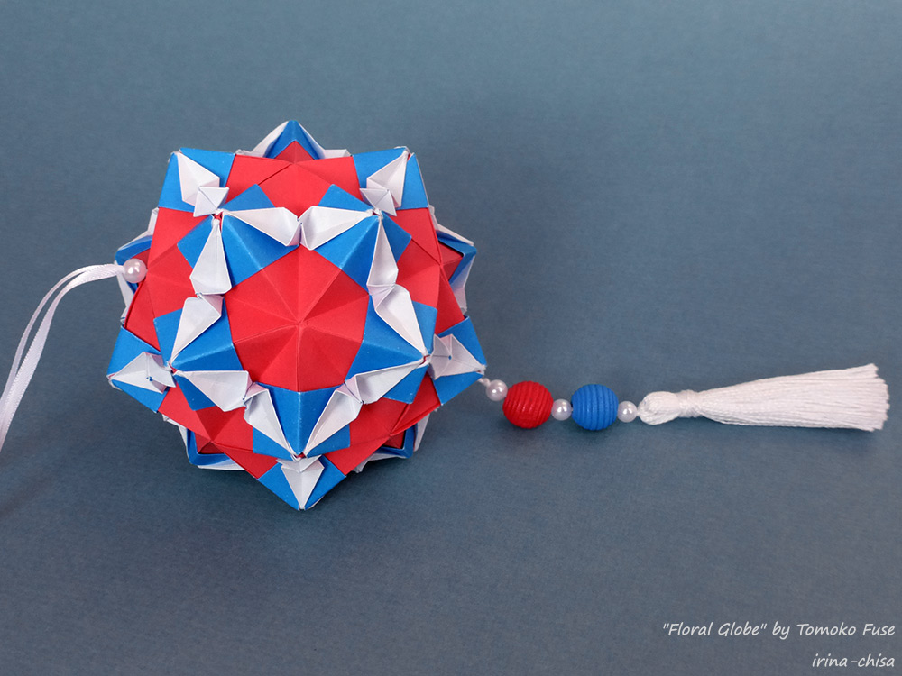 """""""Floral Globe"""" by Tomoko Fuse"""