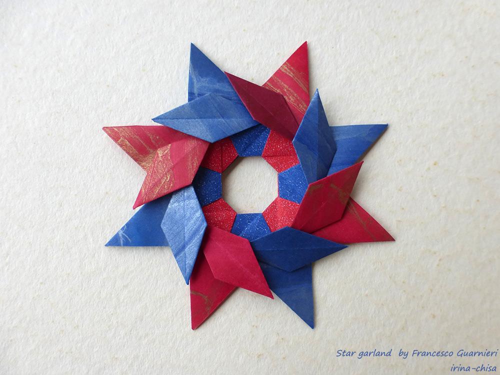 Star garland by Francesco Guarnieri