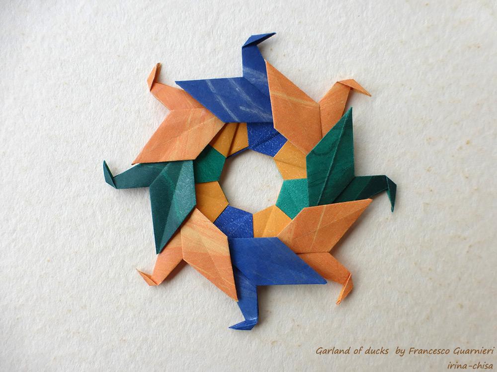 Garland of ducks by Francesco Guarnieri