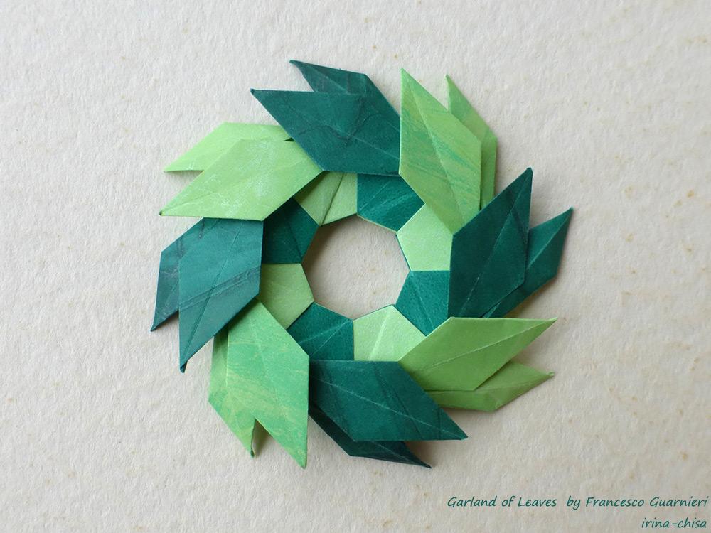 Garland of Leaves by Francesco Guarnieri