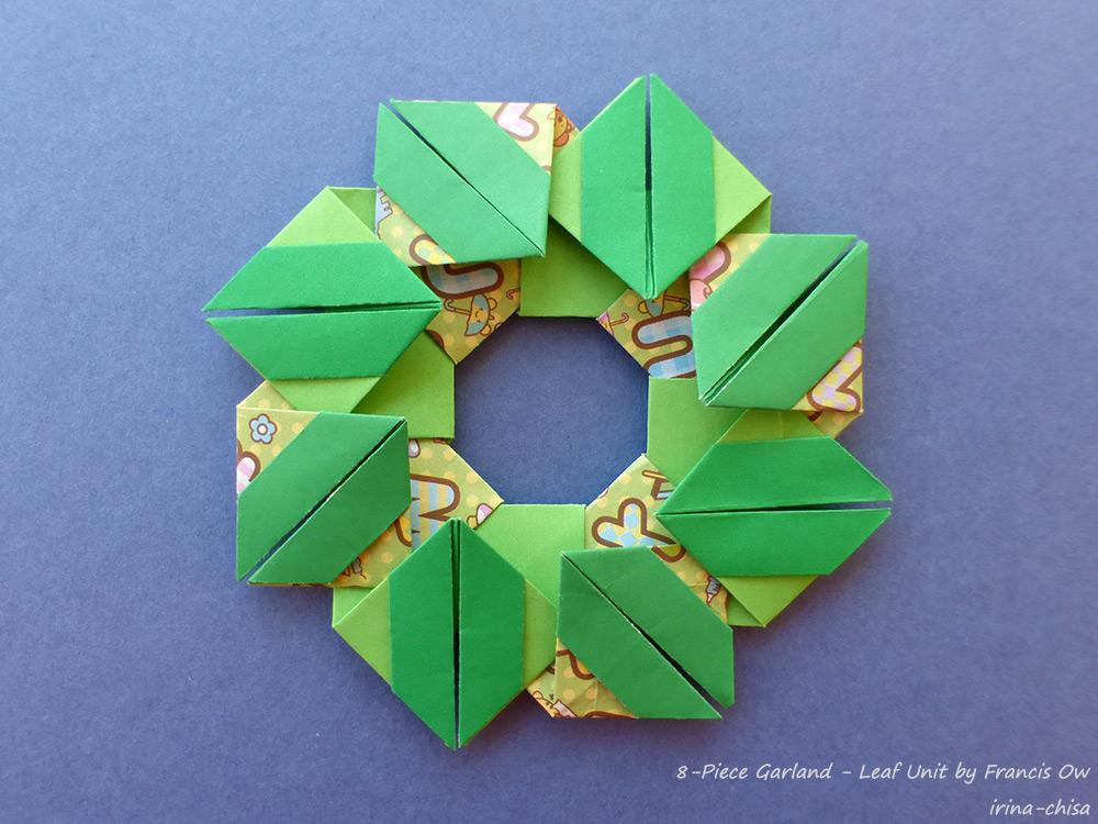 8-Piece Garland - Leaf Unit by Francis Ow